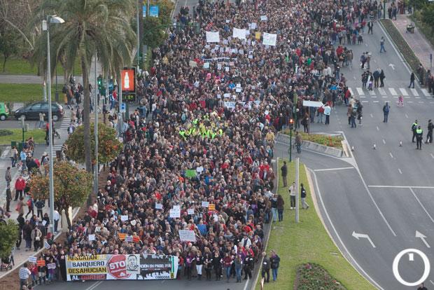 Manifestación PAH - STPO DESAFIUZAMENTOS